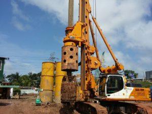 Proposed Transmission Units Piling Works for New Bridge over Kelani